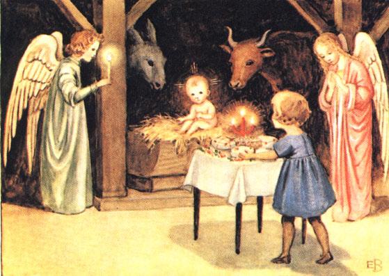 Gamle Julebilleder
